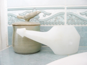 Neti Pot and Salt Pot