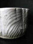 Scrapy Textured Pot