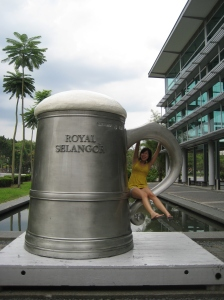 The largest beer tankard IN THE WORLD!