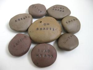 Yoga Wisdom Stones