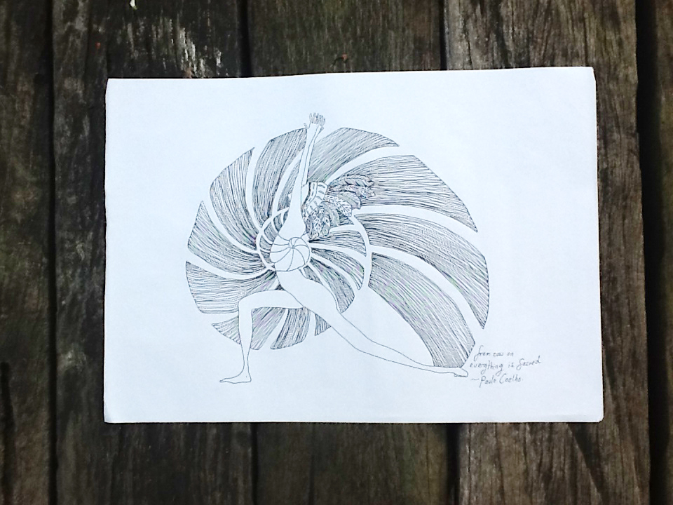 Sketches Done Now To Print New Yoga Drawings Inkypots Blogs