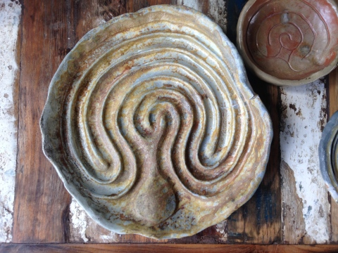 Baltic Labyrinth Platter